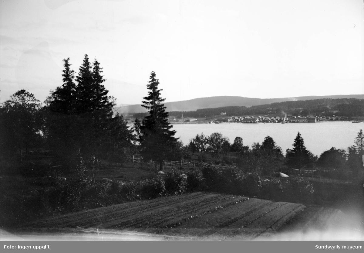 Vy tagen från norra Alnön mot Sundsbruk.