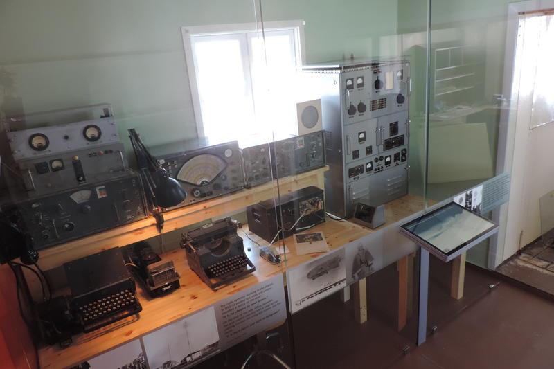 Radiostasjon Ny-Ålesund utstilling