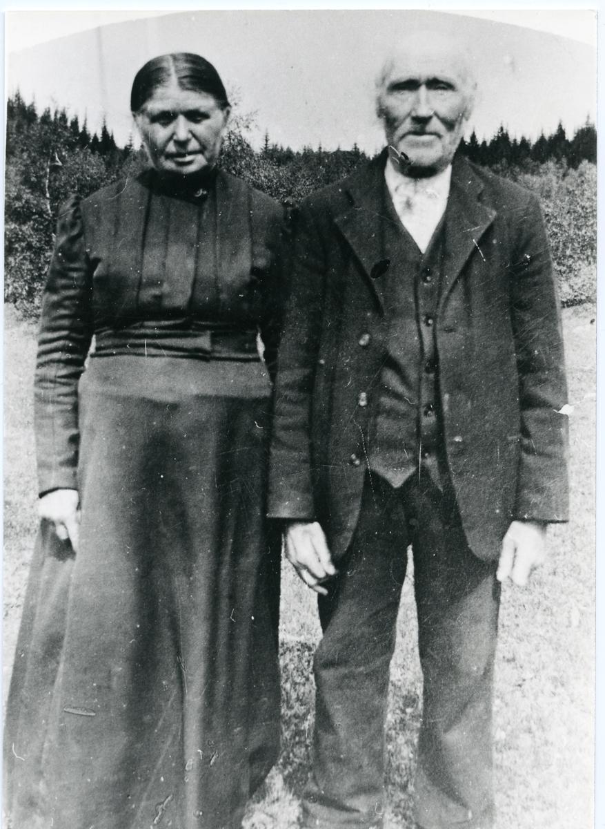 Per Pikhaug med kona Gunhild.