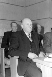 Fylkestingets åpning 1952