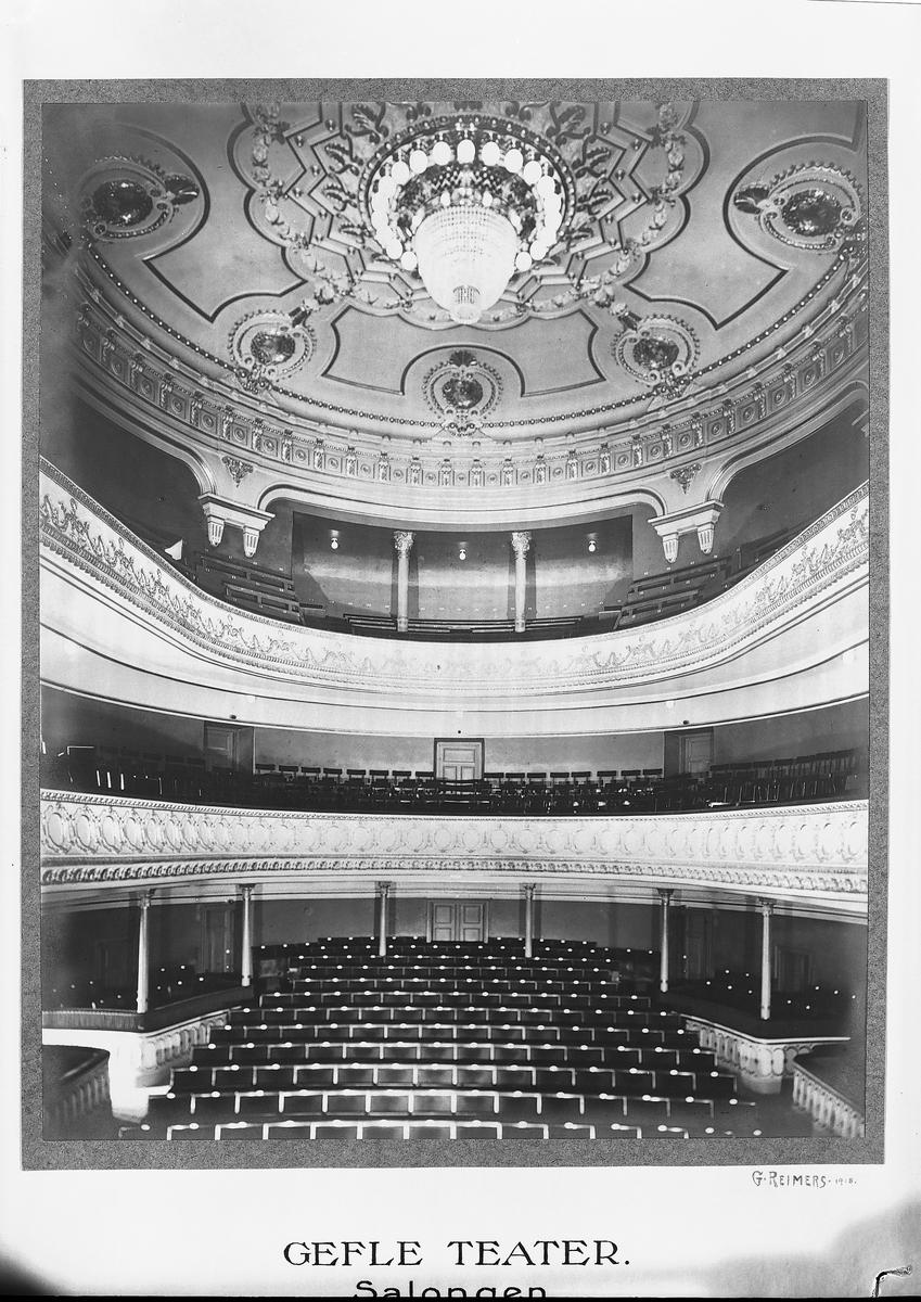 Gävle Teater, Salongen  Invigdes 1878