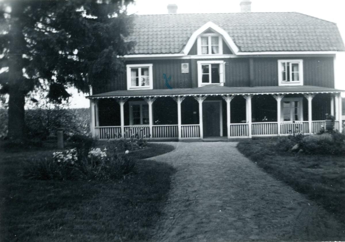 Höreda poststation, maj 1954.