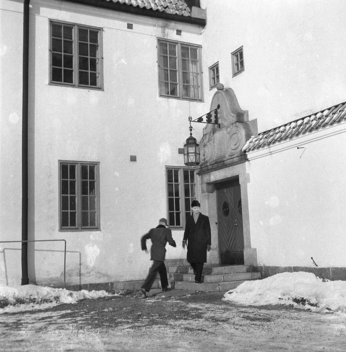 Huvudkontoret. Korsnäs AB. Den 9 mars 1955.
