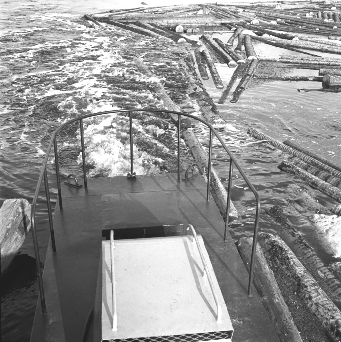 Lagning av Transportanläggningen. Korsnäs AB. Den 23 april 1965