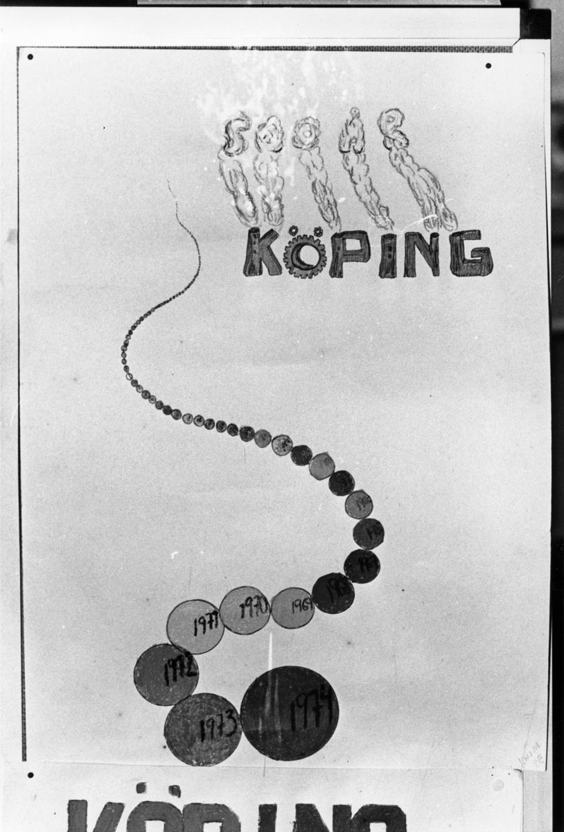 Köping 500 år barnteckningar