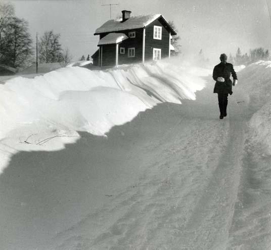 Snöstorm i tre dygn.