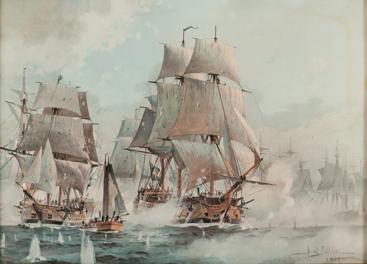 Sjöstrid, utbrytningen ur Viborgska viken, Viborgska gatloppet 3 juli 1790