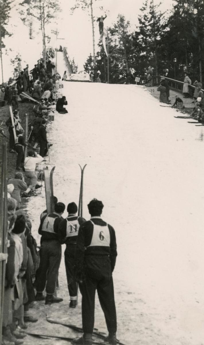Ski jumping at Holtekollen, Copenhagen
