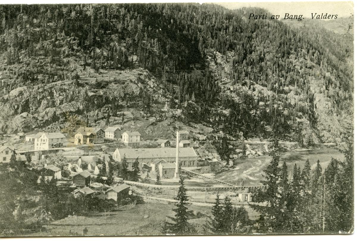 Postkort med motiv fra Bagn, Sør-Aurdal.