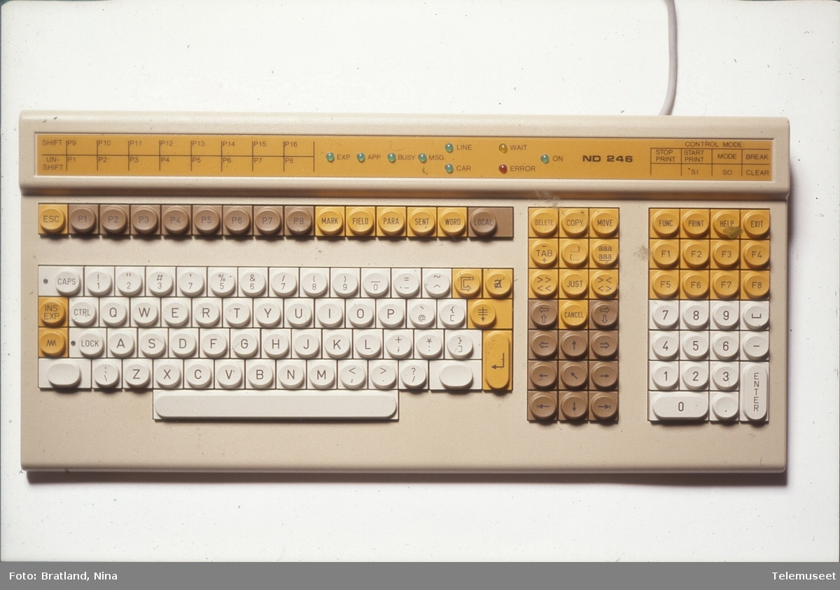 Tastatur Norsk Data
