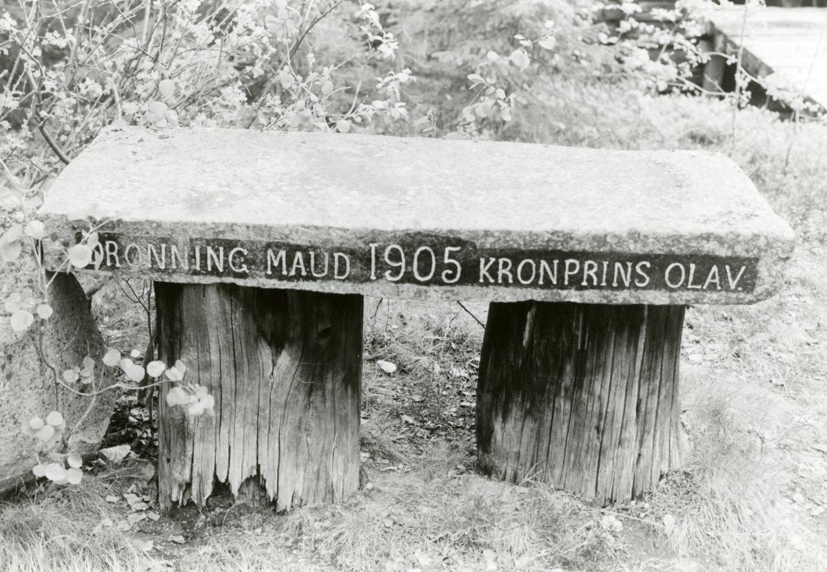 """Dronningbordet"", Bautahaugen samlinger, Sør-Aurdal"