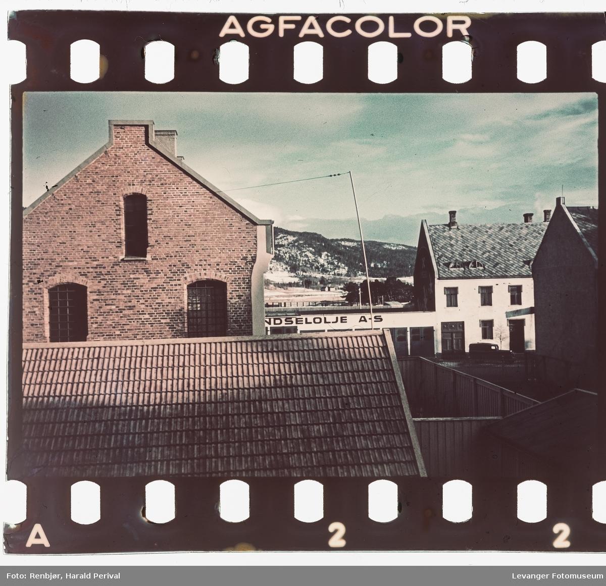 Hustak i Levanger.