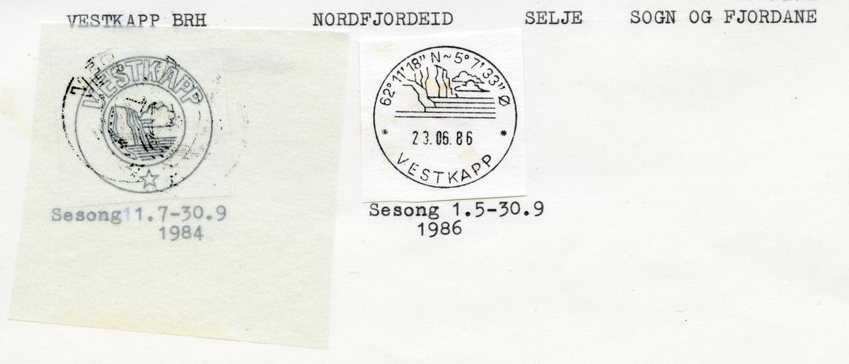 Vestkapp, Nordfjordeid, Selje, Møre og Romsdal