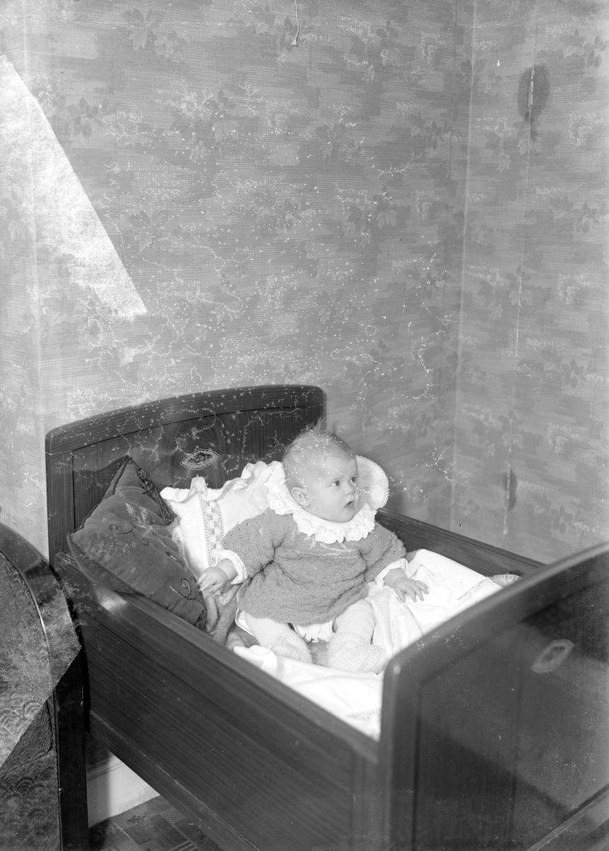 Okänt barn. Foto i november 1941.
