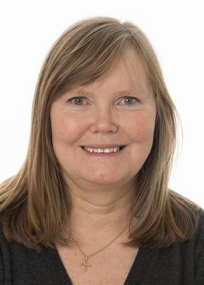 Portrett av administrasjonssjef Kari Tyseng i Anno museum.