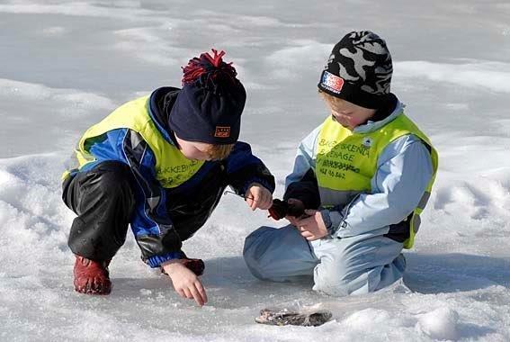 Isfiske Bakkebygrenda barnehage
