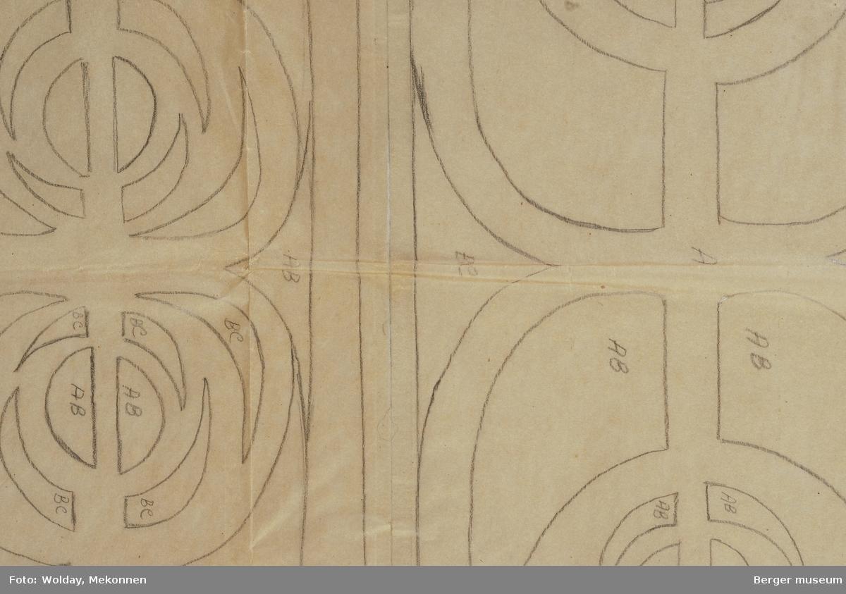 Ovalt mønster