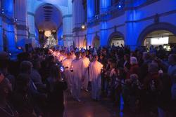 Lucia konsert Södra Latins Kammarkör på Nordiska museet