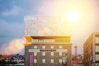 Rockheim-bygget, fra nord