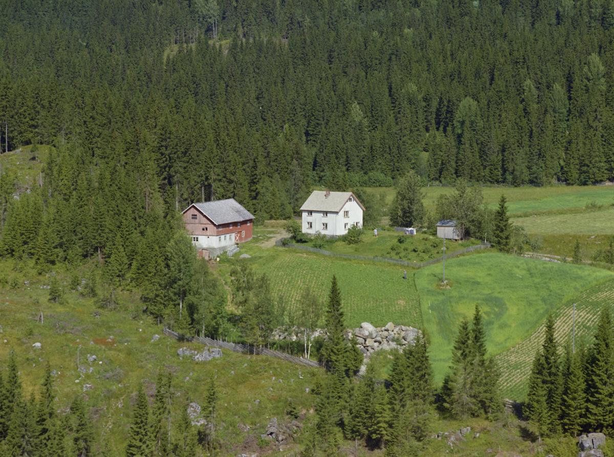 Saksumdal, Glotten/Glaatten, gårdsbruk, kulturlandskap