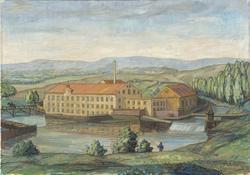 Bentse Brug 1858 [Oljemaleri]