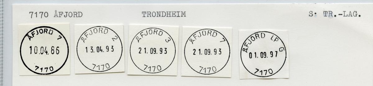 7170 Åfjord, Trondheim, Sør-Trøndelag