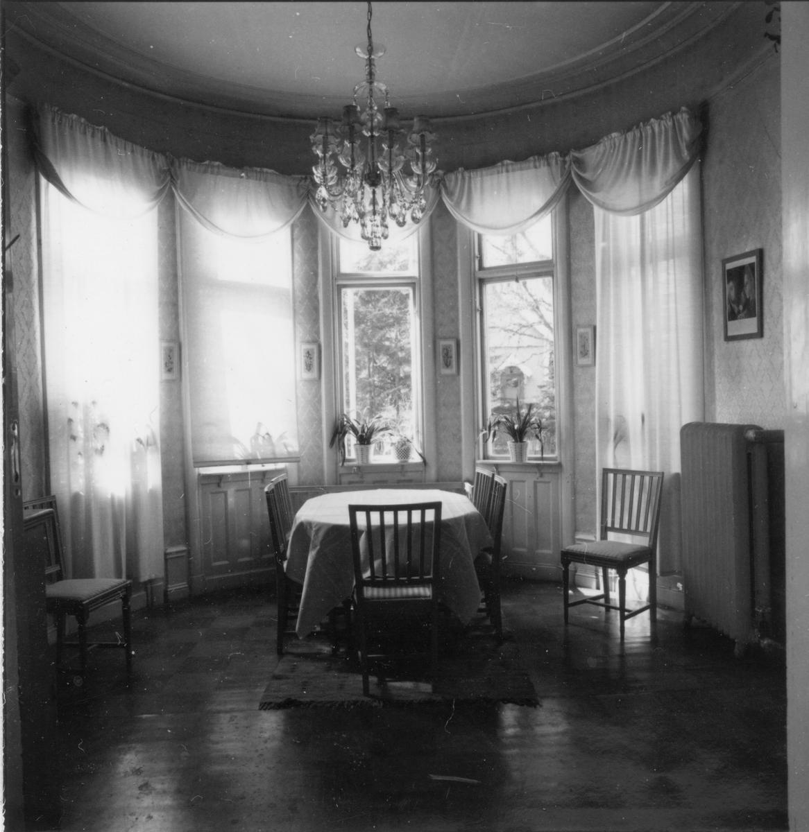 Bottenvåningen, kabinett mot söder.