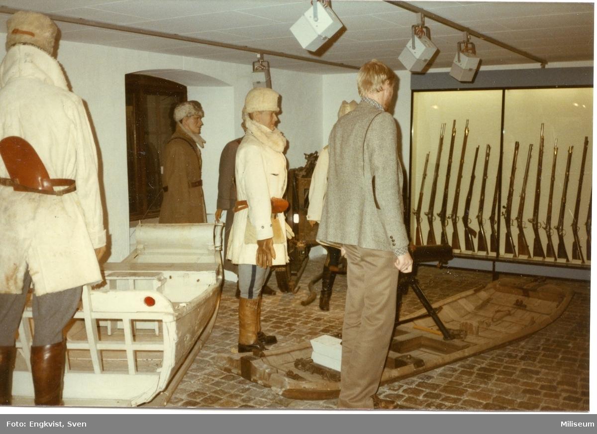 Museum, Malmö. Vintersoldater. Sven Rosborn (muséet)