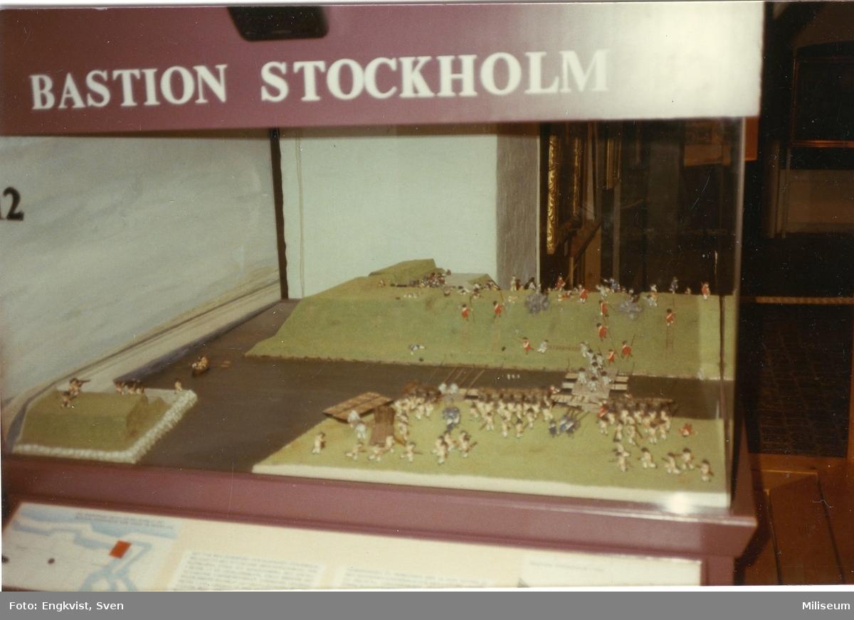 Museum, Malmö. Modell. Bastion Stockholm.