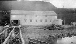 Tønnefabrikk på Mortenhals, Balsfjord