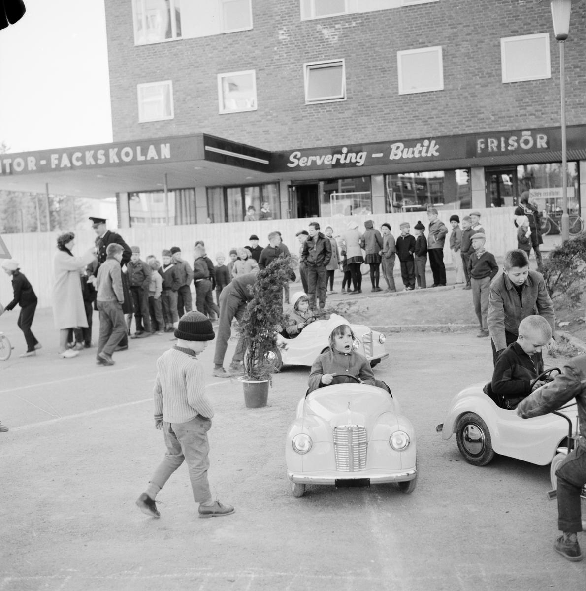 Trafiklekskola, Uppsala, 1961