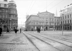 Stora torget, Uppsala november 1943