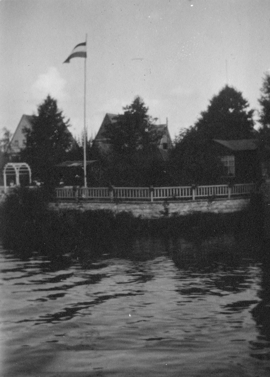 På besøk hos Dagfrid Golfermann i Berlin, 1920-1930.