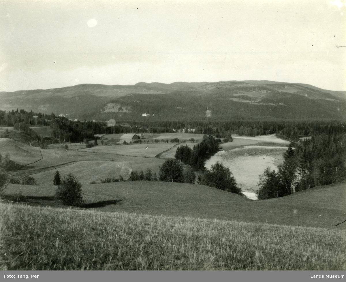 Etna etter samløp med Dokka. Sett fra Kolbjørnshus