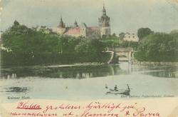 Vykort med Kalmar slott som motiv.