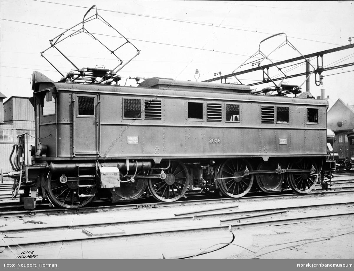 Elektrisk lokomotiv type El 5 nr. 2036
