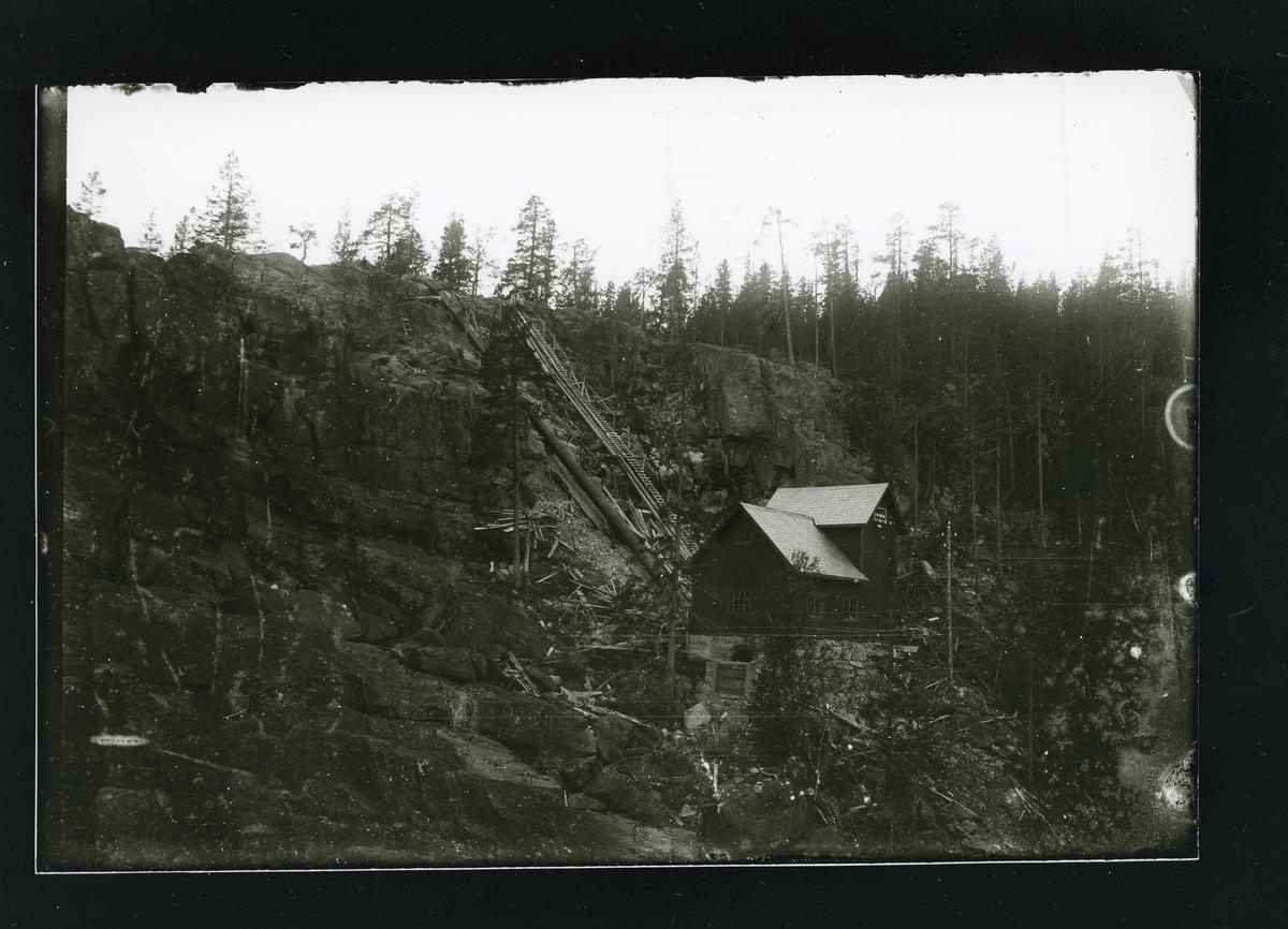 Kvammefoss kraftverk i Åbjøra, Nord-Aurdal.