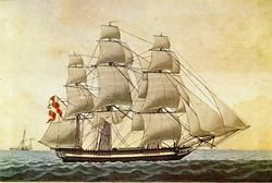 Fregattskip 'Bekkeskow' (b. 1796, Finland).