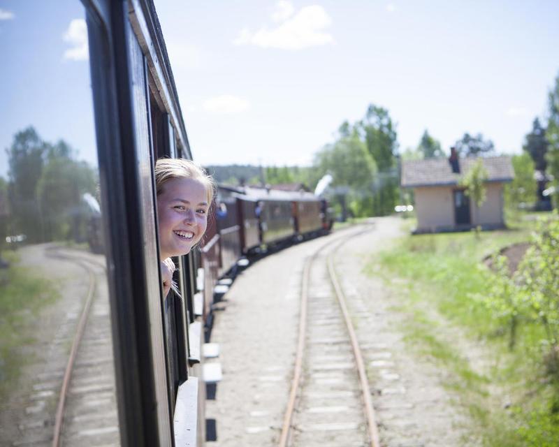 Historical railway tour with Tertitten (Foto/Photo)