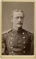 Porträtt av okänd underlöjtnant vid Västmanlands regemente I