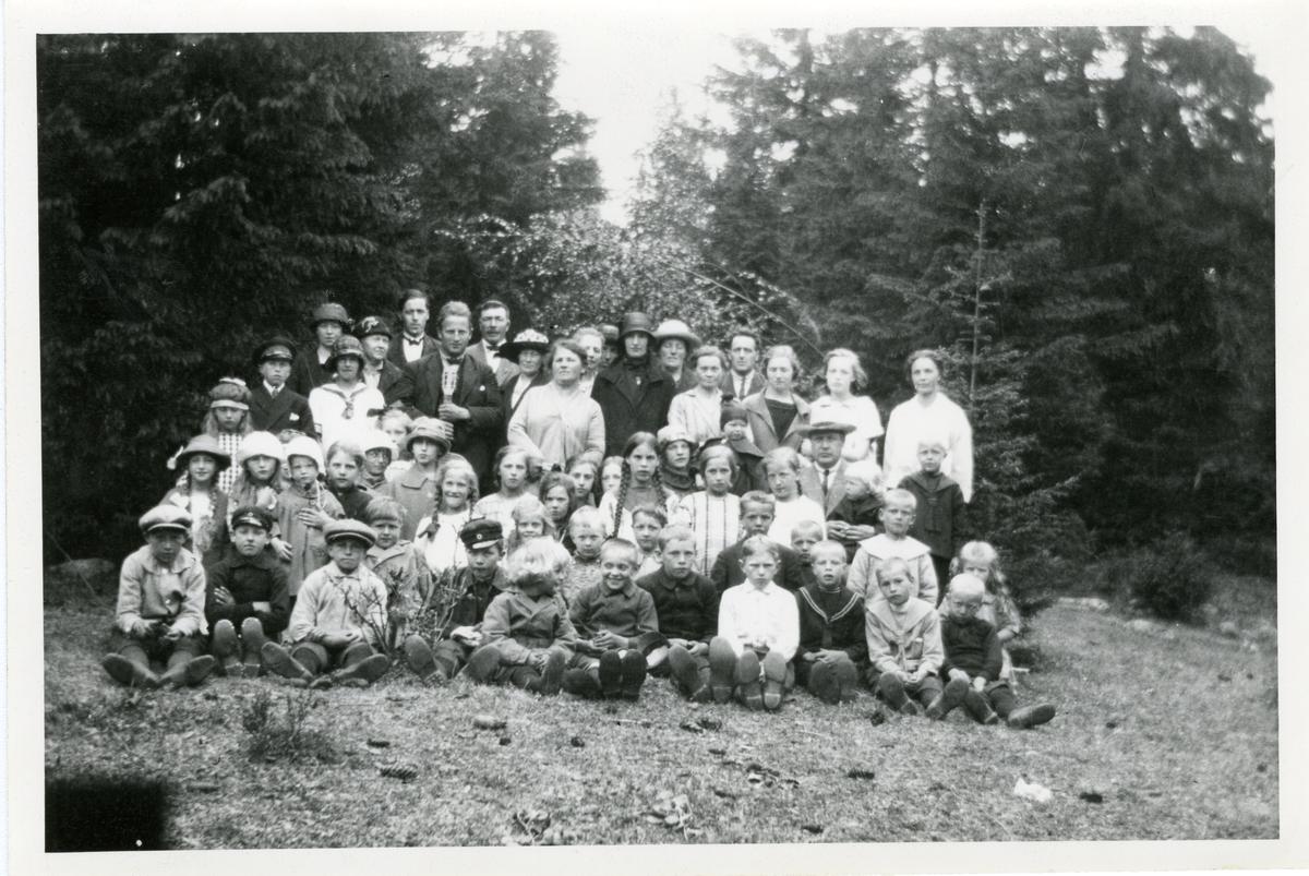 Bagn søndagsskole i 1925.