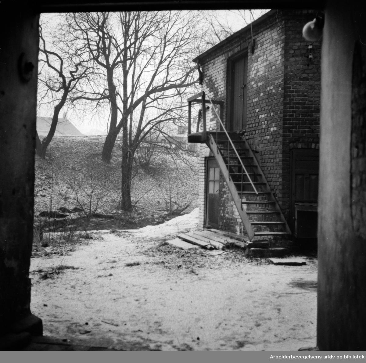Nedre Vaskegang. Desember 1957
