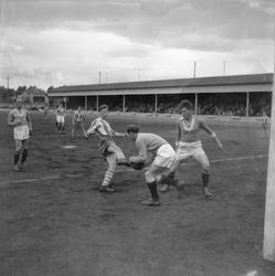 Fotballkampen Kvikk - Nasjonal, på Stadion
