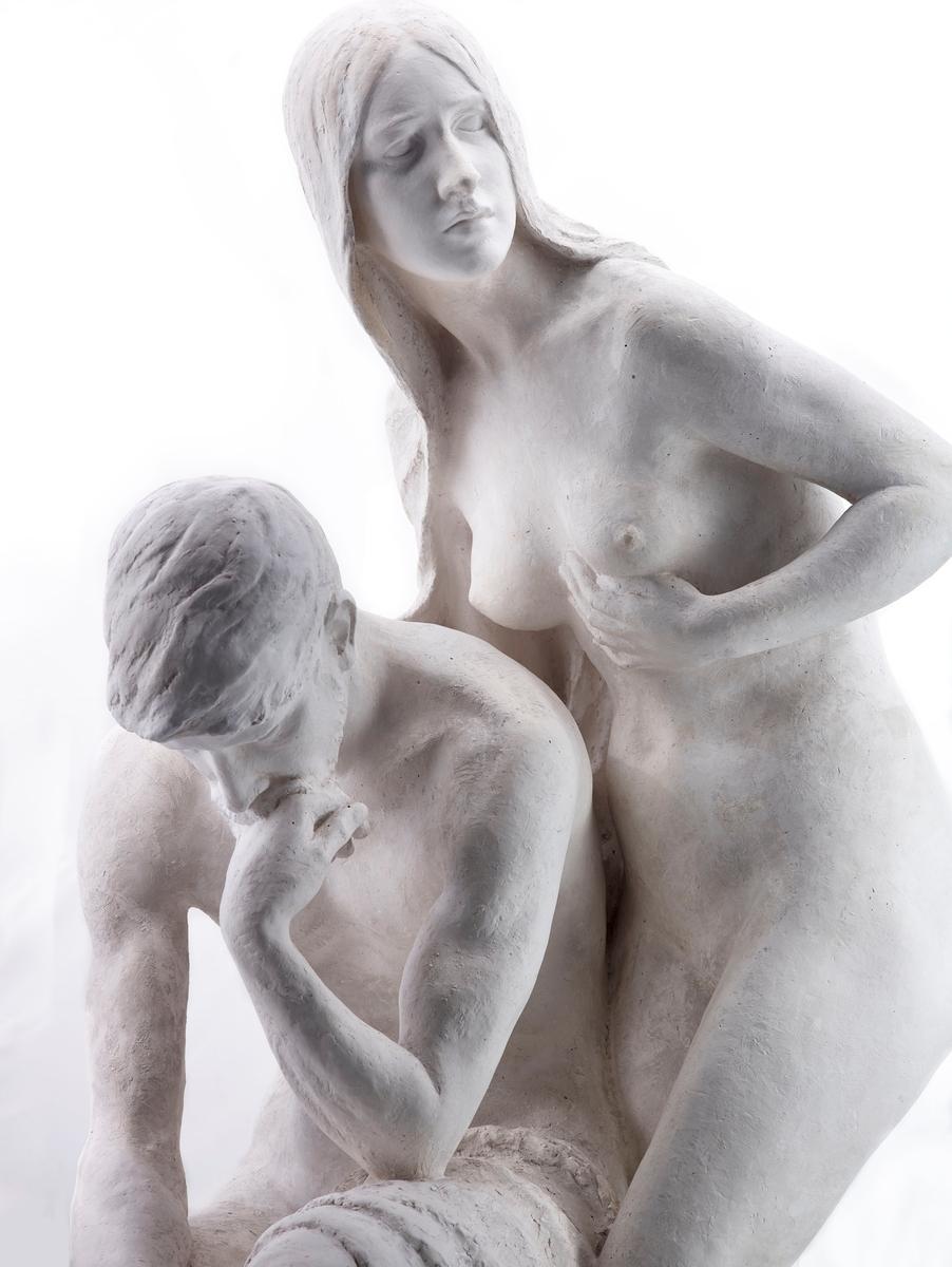 Svor ønskte at Nasjonalgalleriet skulle kjøpe inn gruppa støpt i bronse. Støpt i bronse til skulpturparken til Anders Svor Museum i 2014 (ASM 428).