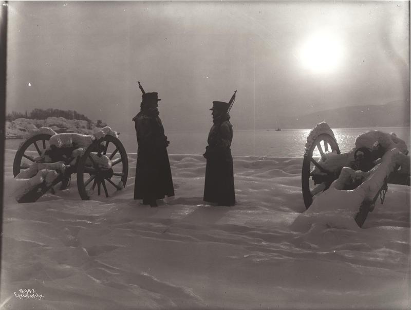 Drøbak Dr. Morteruds Vagtavløsning 1915