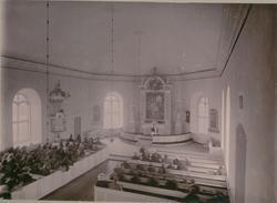 Gudstjänst i Sandby kyrka.
