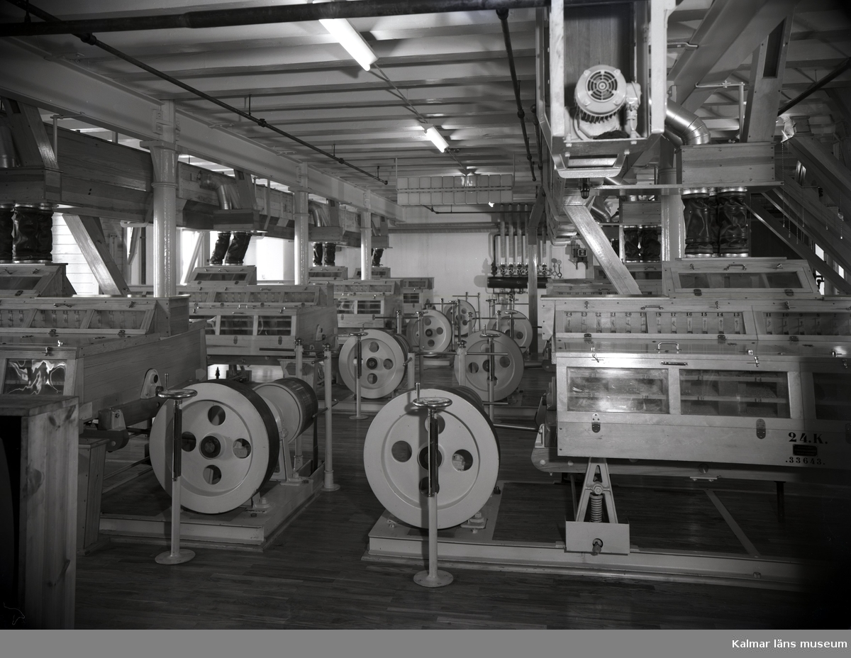 Maskiner i Kalmar ångkvarn.
