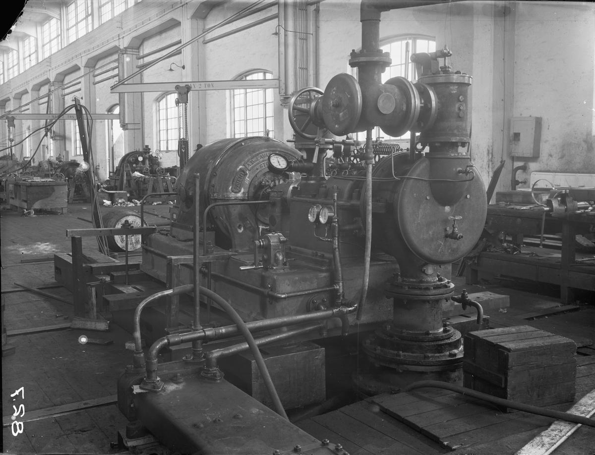 Ångturbingenerator 240kw för Spetsbergen L.O. 3287.