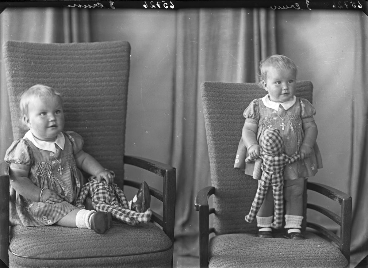 Portrett. Liten pike. Bestillt av Ingeborg Kallevik. Holmegt. 30.