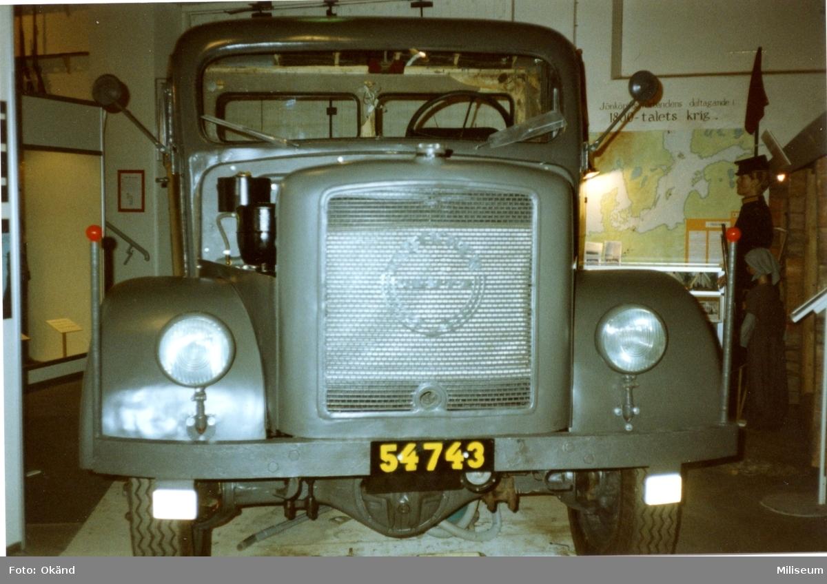Terrängbil m/1942 M, Klöckner. Fronten.